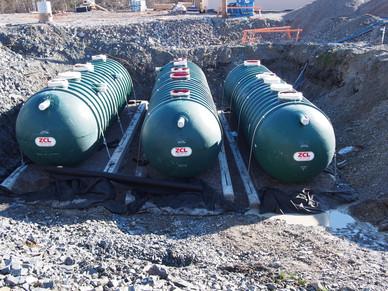 Onsite Wastewater Storage Tanks